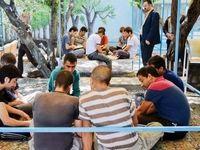 کمپ «سیـاه» برای معتادان