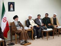 دیدار اعضای ستاد کنگره شهدای استان هرمزگان با رهبر انقلاب