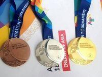 ایران با 40 مدال چهارم آسیاست