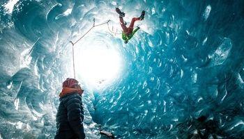 کوهنوردی در یخچالهای طبیعی آلپ +عکس