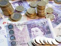 ارزش پوند انگلیس به پایینترین حد خود در ۳هفته گذشته رسید