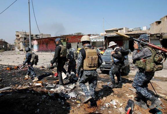 آزادسازی محله المطاحن در غرب موصل