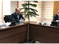 جلسه بانک مرکزى و وزارت صنعت معدن در دفتر سیف +عکس
