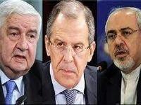 برگزاری مذاکرات سهجانبه وزیران خارجه ایران، روسیه و سوریه