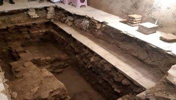 جزئیات کشف آثار تاریخی بیشاز 700سال در بازار حضرتی