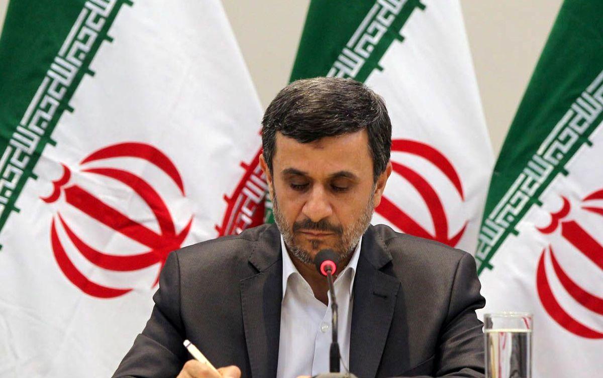 احمدینژاد برای انتخابات۱۴۰۰ میآید