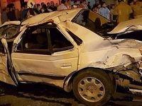 واژگونی مرگبار پژو پارس با 2کشته