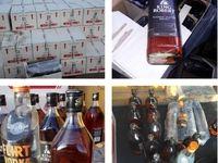 کشف محموله بزرگ مشروبات الکلی در گمرک +عکس