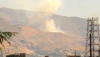 دود غلیظ در تهران ناشی از آتشسوزی علفزارهاست