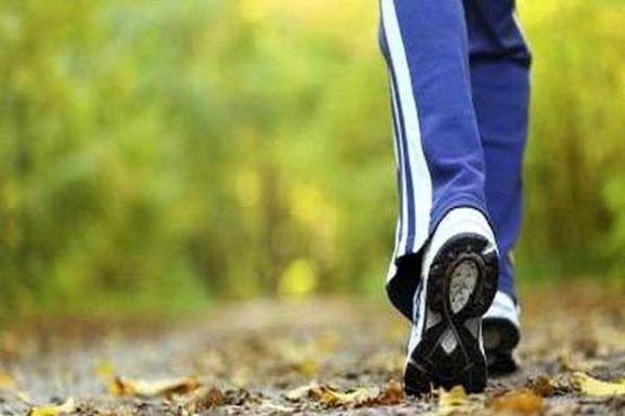 کاهش خطر مرگ برای زنان با قدم زدن