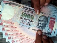 ارزش روپیه هند به پایینترین سطح ۶ماه اخیر رسید