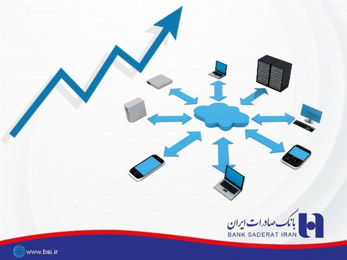رشد بیش از ٢٢٢ درصدی تراکنش درگاههای اینترنتی بانک صادرات ایران