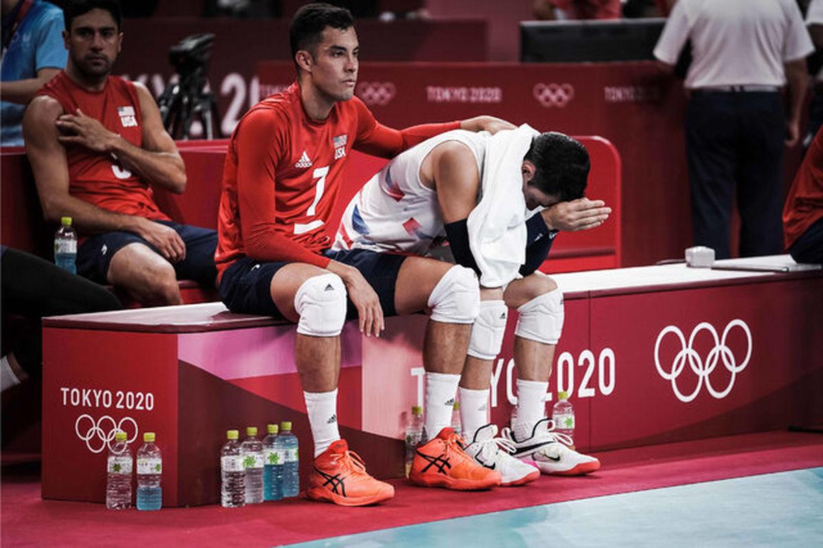 تیم ملی والیبال آمریکا از المپیک حذف شد