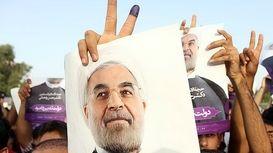 کلیپ جشن پیروزی حسن روحانی در انتخابات +فیلم