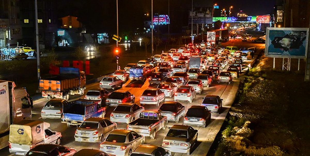 ترافیک سنگین در ورودی های شرقی پایتخت