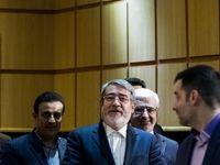 نشست خبری وزیر کشور در خصوص انتخابات +تصاویر