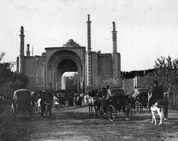 دروازه دولت تهران قدیم+ عکس