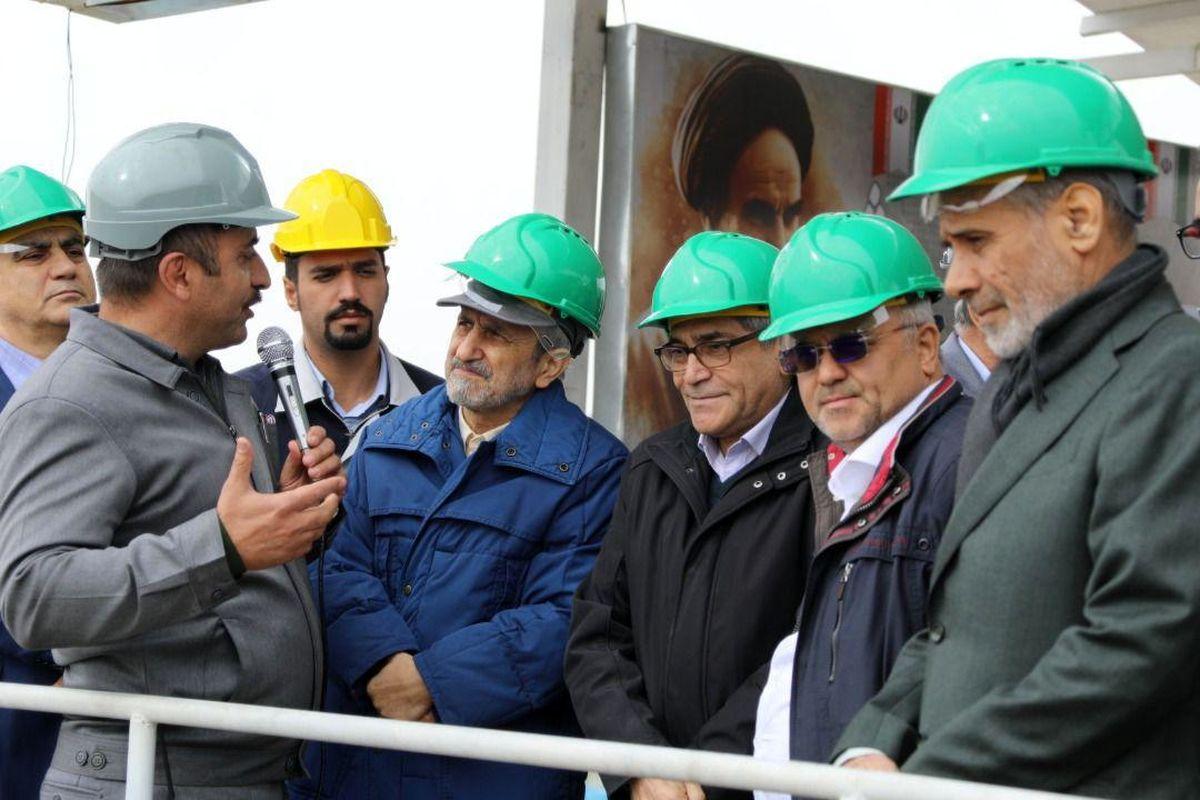 گهرزمین به پیشرفت قابل ملاحظهای رسیده است/ رشد 49 درصدی تولید سنگ آهن دانه بندی