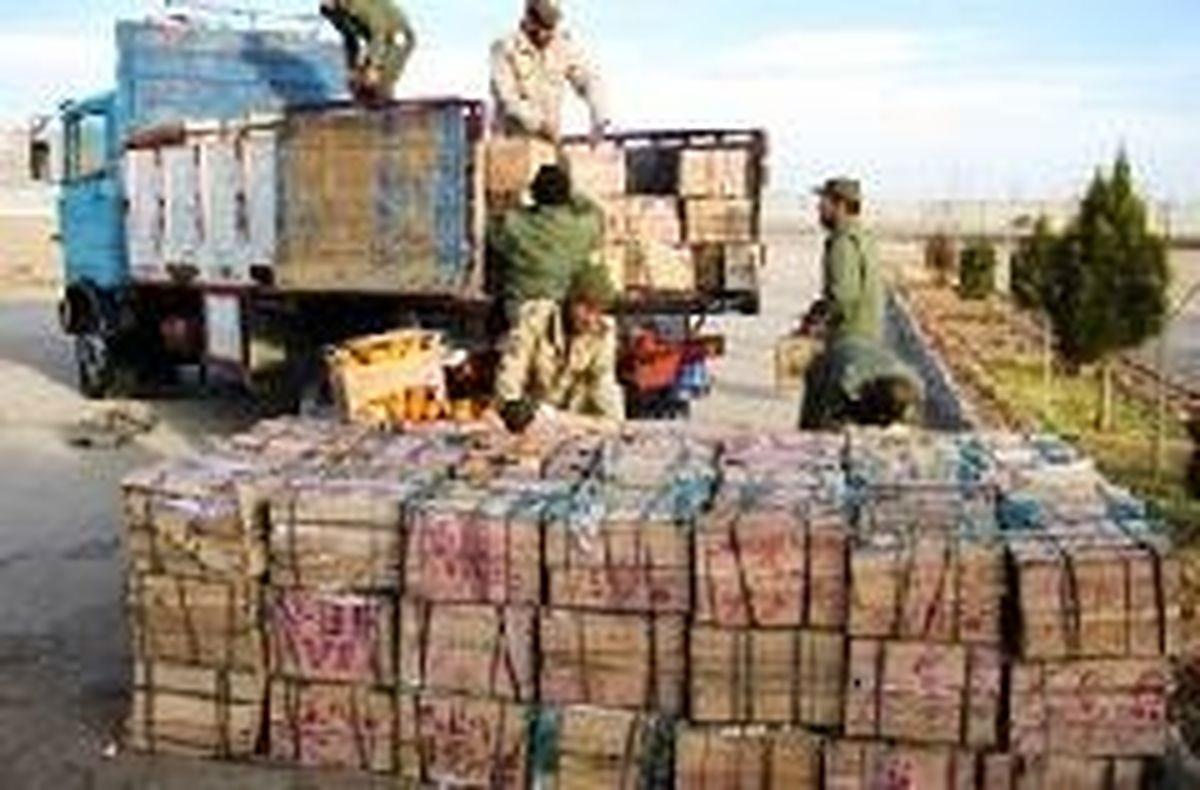 کشف ۲۹تن محصولات کشاورزی قاچاق در هرمزگان