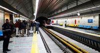 جابجایی ۱۷۱هزار مسافر توسط مترو در روز عید فطر