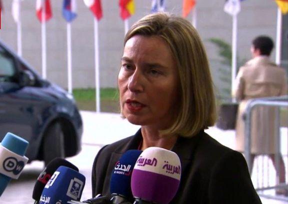 موگرینی: تصمیمی برای اعمال تحریم ایران نداریم