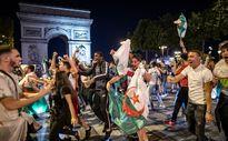 اتفاقهای عجیب بعد از قهرمانی الجزایر در فرانسه +فیلم