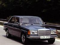 مرسدس بنز W123، شبح جادهها