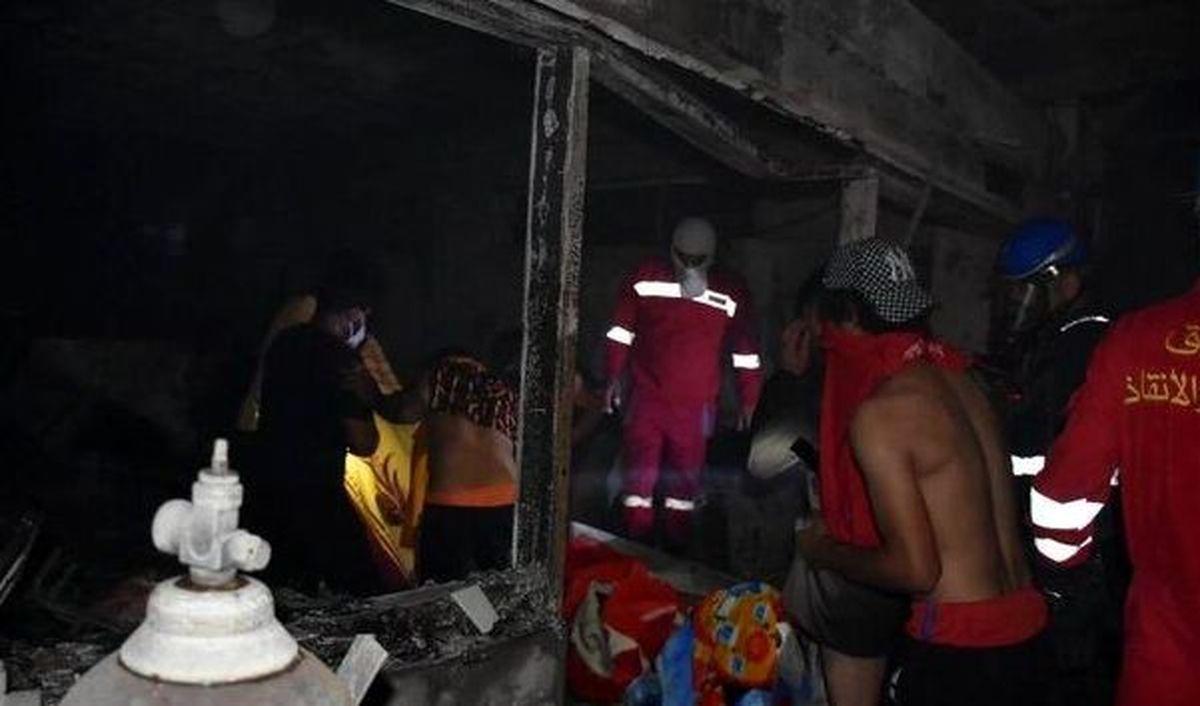 شمار قربانیان حادثه بیمارستان ابنالخطیب بغداد به ۸۲کشته رسید