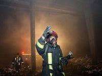 آتشسوزی در پاساژ فردوسی تهران