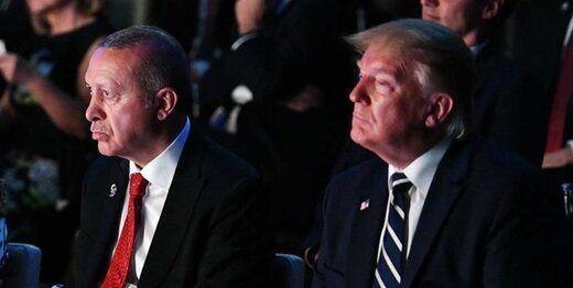 اردوغان با ترامپ تماس گرفت