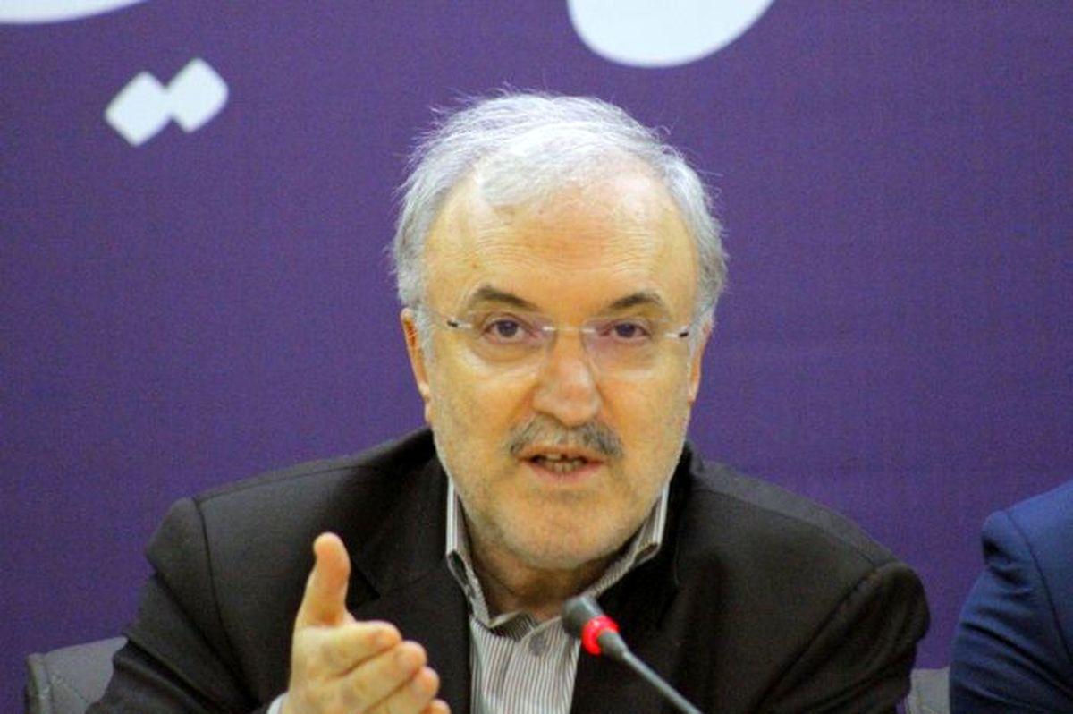 نمکی: پروازهای رفت و برگشت ایران به چین متوقف شد