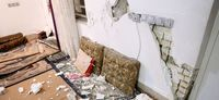 زلزله در خان زنیان فارس +تصاویر