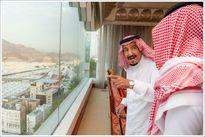 حضور پادشاه عربستان در مراسم حج +تصاویر