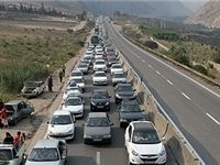 محدودیت ترافیکی جادهها در پایان هفته