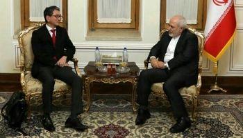 دیدار و گفتگوی معاون ارشد وزیر خارجه ژاپن با ظریف