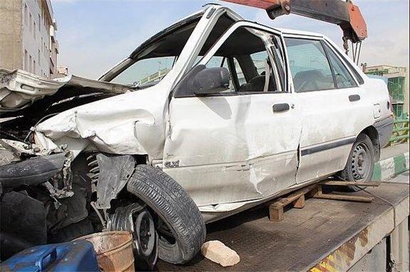 تصادف رانندگی ۲کشته داشت