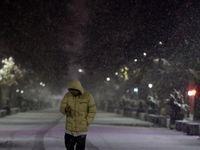 شب برفی همدان +تصاویر
