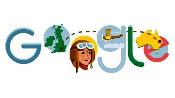تغییر لوگوی گوگل به افتخار یک زن