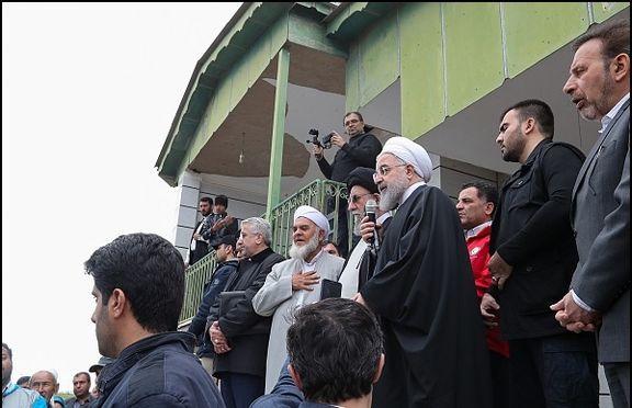روحانی: دولت با تمام توان در کنار مردم است/ هیچ ساعتی برای ما ساعت راحتی نخواهد بود، مگر اینکه شما، رنج و غمتان برطرف شود