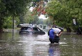 سیل شدید در تگزاس +تصاویر