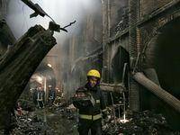 آتش ۲۰میلیارد تومان به بازار تبریز خسارت زد