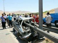 حادثه رانندگی در خرم آباد سه کشته برجا گذاشت