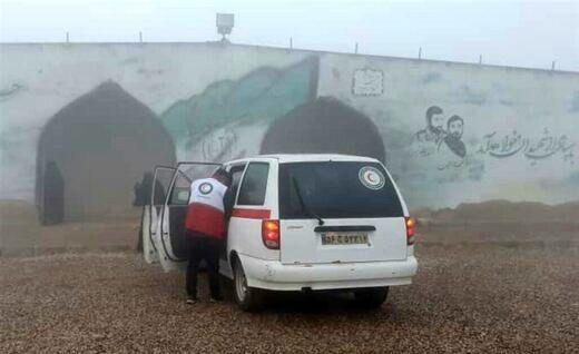 انتقال ۸مصدوم از بیمارستان الحسین کربلا به مرز مهران