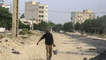روند طولانی یک پروژه آبفای اهواز کسبه یک خیابان را ورشکست کرد