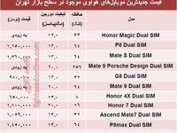 جدیدترین  موبایلهای هوآوی کدامند؟ +جدول