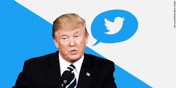 نخستین توئیت فارسی ترامپ +عکس