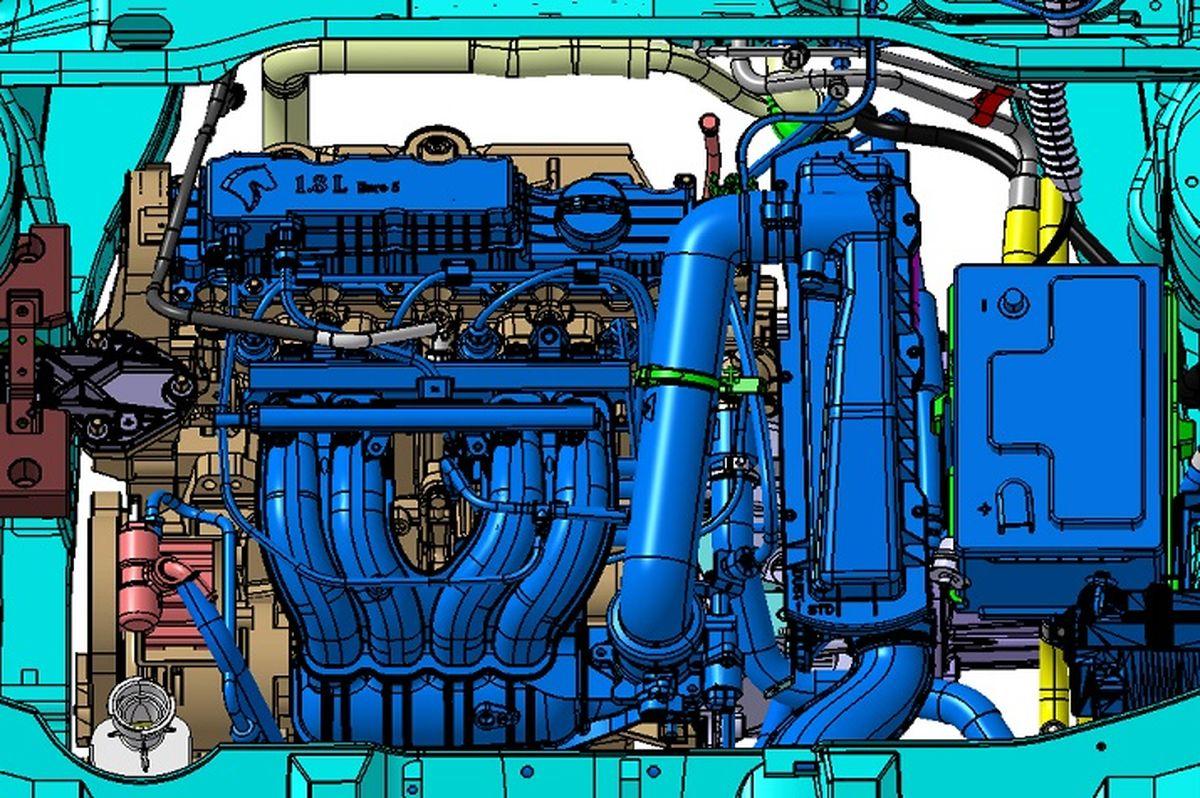تولید انبوه موتور XU پلاس