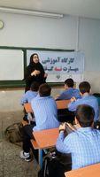 برپایی کارگاههای پیشگیری از آسیبهای اجتماعی در مدارس ۶۳گانه ورودی غربی پایتخت