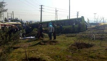 نقص فنی خودرو درحادثه اتوبوس دانشگاه آزاد محرز است