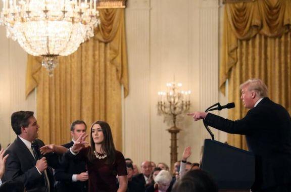 ترامپ تهدید به لغو مجوز سایر خبرنگاران کرد